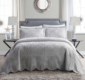 $93.99(原价$340)起 包邮一物多用 VCNY Westland 绗缝床品套装