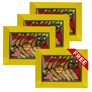 花旗(西洋)參短枝大號3oz盒裝4盒套組 (買3送1)