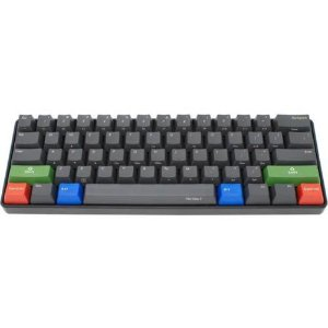 iKBC Poker2 Mechanical Keyboard with Cherry MX Red Switch, Black