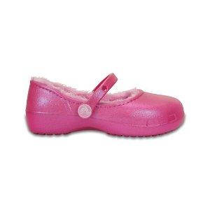Party Pink Karin Lined Clog - Toddler & Girls