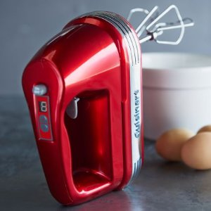 Cuisinart Power Advantage 7-Speed Hand Mixer, Metallic Red | Sur La Table