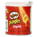 Pringles Original Small Stacks, 1.3 Ounce (Pack of 12)