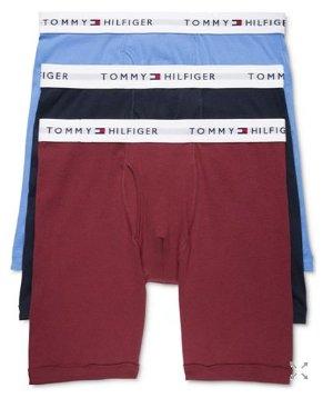 $16.2抢!Tommy Hilfiger 男士纯棉平角内裤三条装
