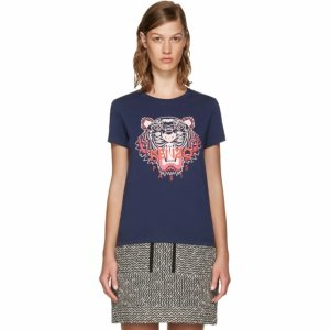 Navy Limited Edition Tiger T-Shirt