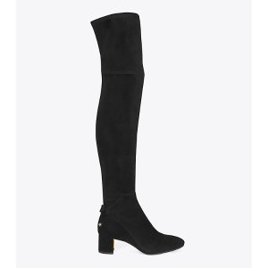 Tory Burch Laila Suede Over-the-knee Boot