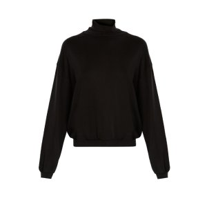 Logo turtleneck sweater
