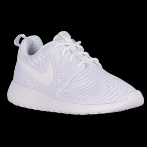 Nike Roshe One - Women's - Running - Shoes - White/White/Pure Platinum