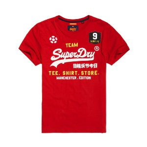 Superdry Classic Limited Edition Football T-shirt - Men's T Shirts
