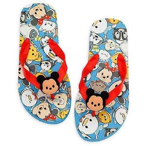 Disney ''Tsum Tsum'' Flip Flops for Adults | Disney Store