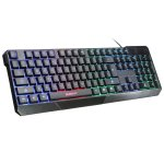 ELEGIANT K70 Colorful LED Illuminated Backlit USB Wired Gaming Keyboard