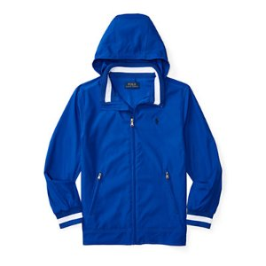Stowaway-Hood Windbreaker - Jackets & Vests � Boys' 8-20 - RalphLauren.com