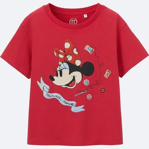 GIRLS Disney (Minnie Mouse Loves Dots) GRAPHIC T-SHIRT