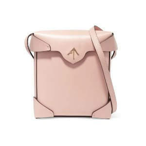 Manu Atelier | Pristine mini leather shoulder bag