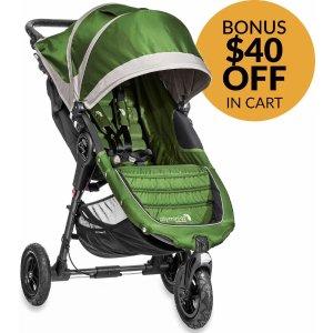 Baby Jogger 2014/2015 City Mini GT Single - Lime/Gray