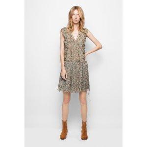 Rimana Print Deluxe Dress | Zadig & Voltaire