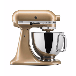 KitchenAid® Artisan® Gold Shimmer 5-qt. Stand Mixer + FREE Food Grinder see offer details | Bon-Ton