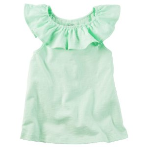Toddler Girl Ruffle Tank | Carters.com