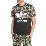 adidas Originals Camo Colorblock Graphic T-Shirt