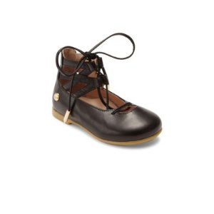 Baby's & Toddler's Belgravia Leather Lace-Up Flats