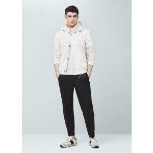 Cotton nylon-blend jacket - Men | OUTLET USA