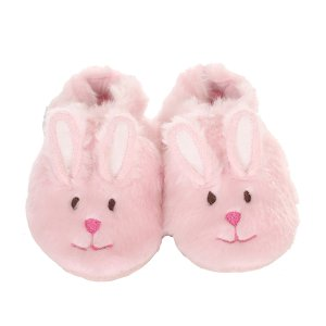 Pink Fuzzy Bunny Baby, Infant, Toddler Shoes | Robeez
