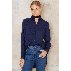 Oversize Slit Shirt - Buy online   NA-KD