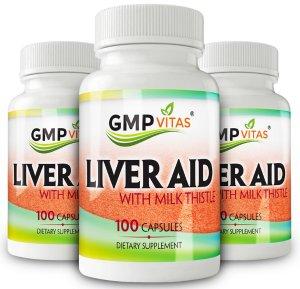 最高额外8折+三瓶$38.21包邮 (原价52.95)GMPVitas 全场促销,天然强效护肝素100粒热卖