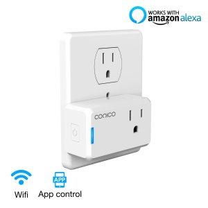 $12.15Conico Wi-Fi控制 迷你智能插座