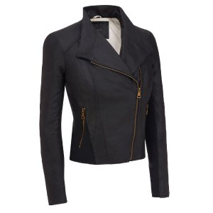 Marc New York Asymmetric Leather Jacket w/Knit Inserts - Andrew Marc - Brands - Wilsons Leather