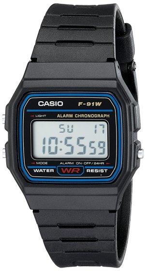 $5.87Casio F91W 男士电子手表
