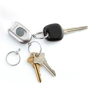 Quick-Release Keychain with Flashlight