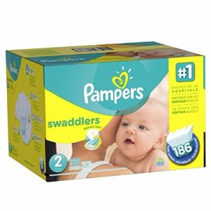 $20.47Pampers Swaddlers Diapers Size 2, 186 Count