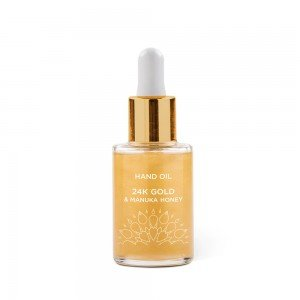 24K Gold & Manuka Honey Hand Oil - Manuka Doctor
