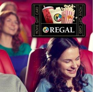 $10for $20 Regal Cinemas eGift Card