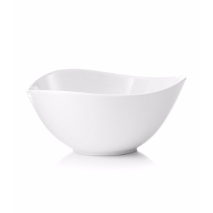 LivingQuarters Whiteware Triangular Serve Bowl | Bon-Ton