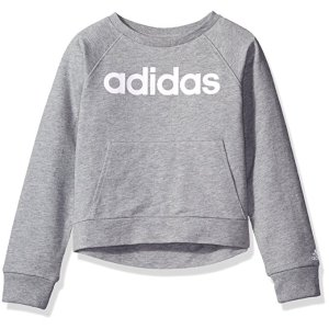 Amazon.com: Adidas Girls' Power Pullover: Clothing