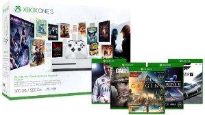 $249 包邮Xbox One S 入门套装 + 2免费游戏