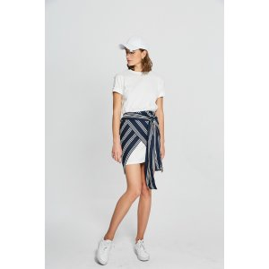 Base Top/Stripe Skirt Set TP1917