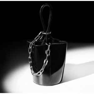 Alexander Wang - Roxy Mini Leather Bucket Bag - saks.com