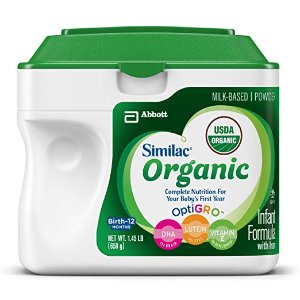 $66.04 Similac Advance Organic Infant Formula with Iron, Powder, 23.2 Ounces (Pack of 6)(Frustration Free Packaging)