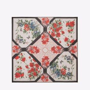 Floral Tablecloth Scarf | Alexander McQueen