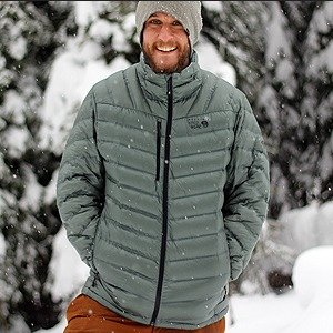 $99.98 ($250)Mountain Hardwear Men's StretchDown™ Jacket Sale
