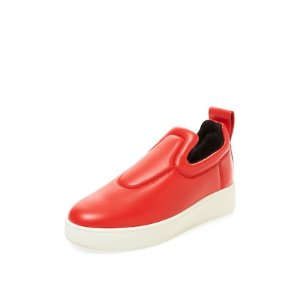 Leather Slip-On Sneaker by Céline at Gilt