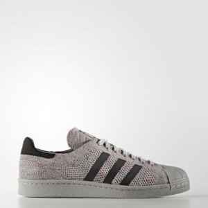 adidas Superstar 80s Primeknit Shoes Men's Grey  | eBay