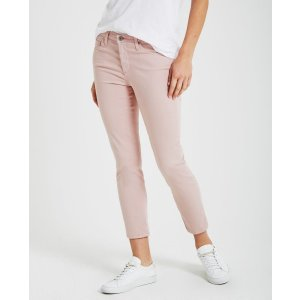 The Prima Crop in Rose Quartz Cropped Jeans