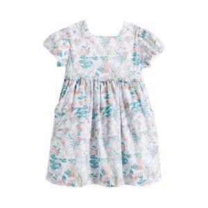Square Neck Floral Dress by Neck & Neck at Gilt