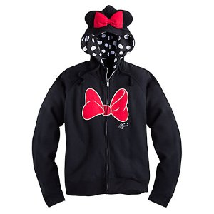 Minnie Mouse Zip Hoodie for Women | Disney Store