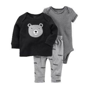3-Piece Babysoft Bodysuit Pant Set