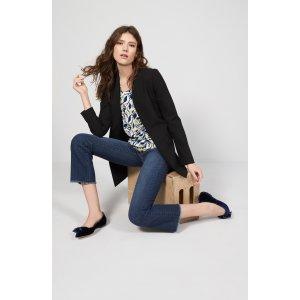 Halogen® Raw Hem Stretch Straight Leg Jeans (Stardust) (Regular & Petite)   Nordstrom