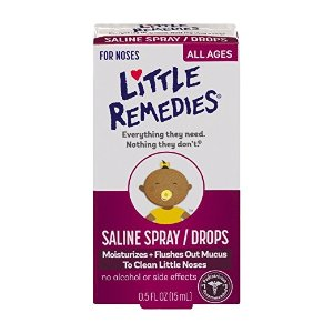 Little Remedies Noses Saline Spray/Drops, 0.5 Ounce: Health & Personal Care